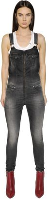 Jeide Stretch Cotton Joggjeans Overalls $391 thestylecure.com
