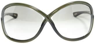 Tom Ford Khaki Plastic Sunglasses
