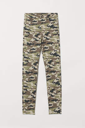 H&M Super Skinny High Jeggings - Green