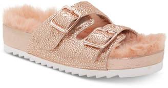 INC International Concepts I.n.c. Women Alani Footbed Flat Sandals, Women Shoes