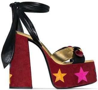 Saint Laurent Paige 145 platform sandals