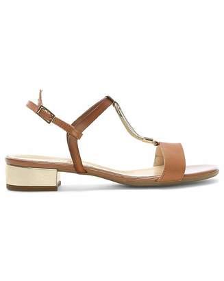 Daniel Footwear Daniel Loella Leather Strappy Sandals