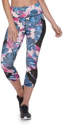 1d01b6487c4d Fila Sport Women s SPORT Performance Mesh Mix Capri Leggings