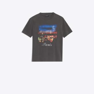 Balenciaga Paris printed short sleeves T-shirt