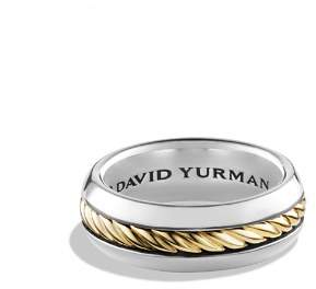 David Yurman Cable Classics Ring with 18K Gold