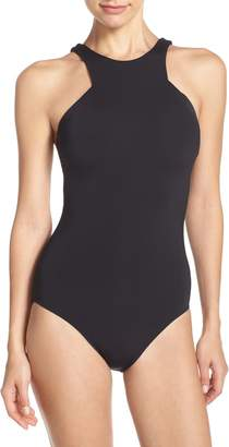 Seafolly High Neck One-Piece Swimsuit