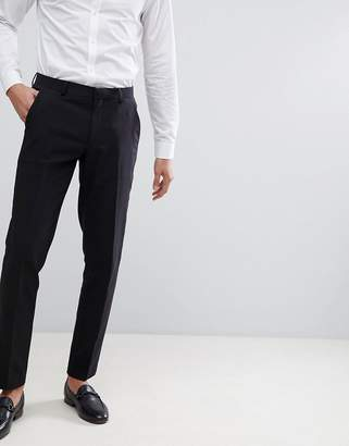 Asos Design DESIGN wedding skinny suit pants in black