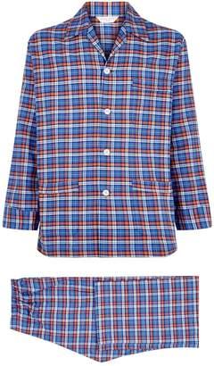 Derek Rose Check Print Pyjama Set