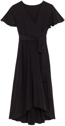 Ethereal London Luciana Black Knee Dress