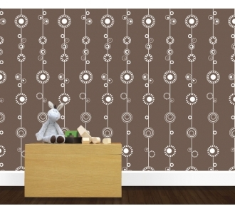 Pin It Olli And Lime George Wallpaper - Milk Chocolate