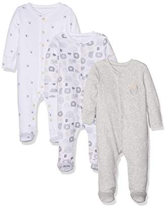 Mothercare Woodland Sleepsuits - 3 Pack
