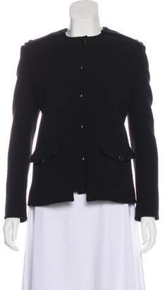 Tom Ford Fleece Wool Structured Jacket