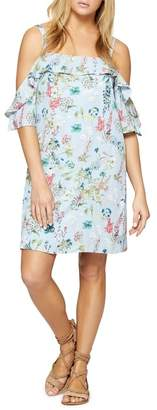 Sanctuary Primrose Ruffle Cold Shoulder Dress