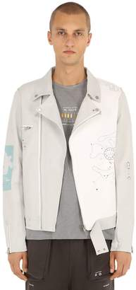 N. Number Ine Musician Leather Jacket