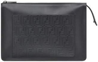 embossed FF shoulder bag - Black Fendi For Sale Cheap Price From China DtJfMGUfVJ