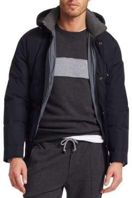 Brunello Cucinelli Hooded Puffer Jacket