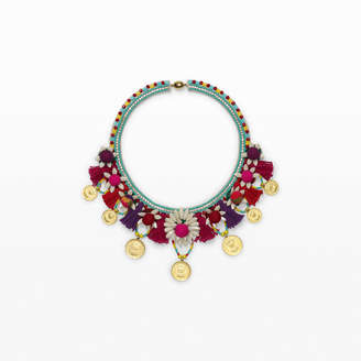 Ranjana Khan Coin Necklace