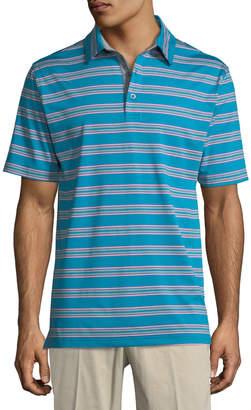 Bobby Jones XH20 Wren Heather Striped Polo Shirt