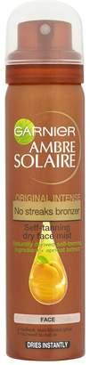 Ambre Solaire Garnier No Streaks Bronzer Face Mist Spray - Original (75ml)