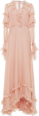 Luisa Beccaria Flounce Full Length Dress