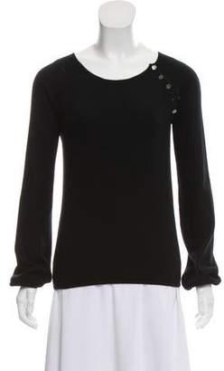 Louis Vuitton Scoop-Neck Cashmere Sweater