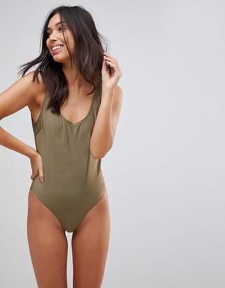 LE PALM Scoop Back Swimsuit