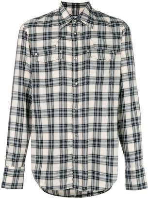 Maison Margiela checked button shirt