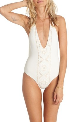 Women's Billabong At Sea One-Piece Swimsuit $89.95 thestylecure.com