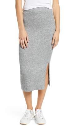 Lou & Grey Soft Rib Pencil Skirt