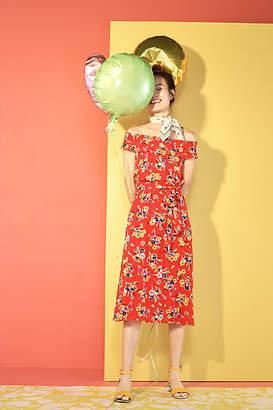 Anthropologie 52 Conversations by Colloquial Off-The-Shoulder Dress