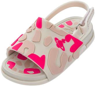 Mini Melissa + Vivienne Westwood Beach Slide Sandal, Toddler
