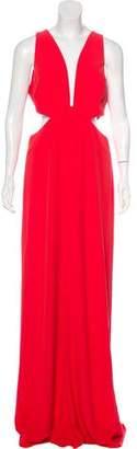 Halston Evening Maxi Dress w/ Tags