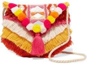 Antik Batik Frika Embellished Cotton Shoulder Bag