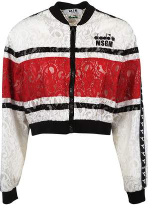 MSGM Laced Detail Bomber