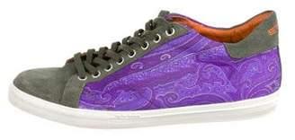 Etro Paisley Printed Sneakers