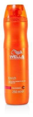 Wella NEW Enrich Moisturizing Shampoo For Dry & Damaged Hair - Fine/Normal 250ml
