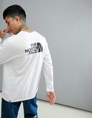 The North Face Easy Long Sleeve Top In White