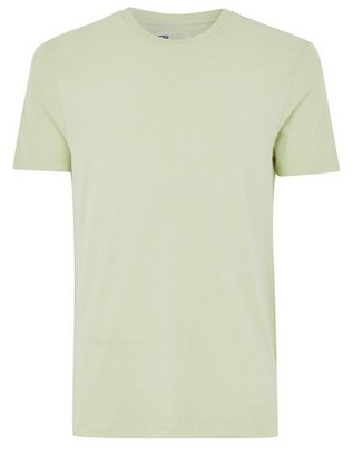 Topman Mens Pastel Green Slim T-Shirt