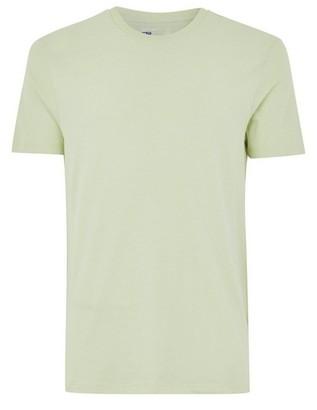Topman Mens Pastel Green Slim T-Shirt