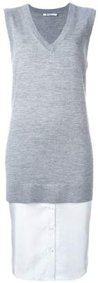 Alexander Wang layered knit top