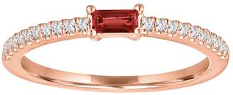 story. My Julia Ruby Ring - Rose Gold