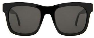 Gentle Monster Kaiser 54Mm Square Sunglasses - Black $215 thestylecure.com