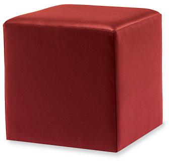 Design Within Reach Nexus Cube in Ultrasuede