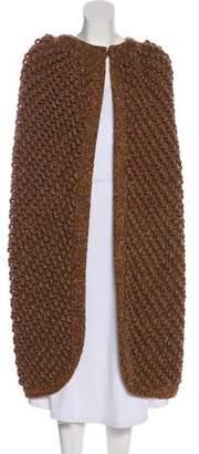 Chloé Cashmere & Wool-Blend Cape