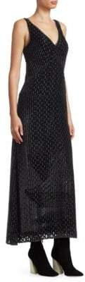 Rachel Comey Nirvana Burnout V-Neck Shift Dress