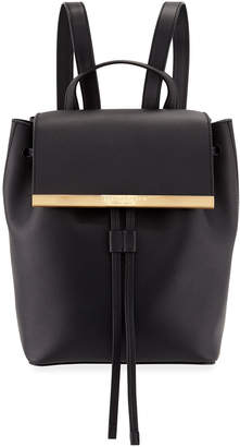 Donna Karan Mally Smooth Leather Backpack