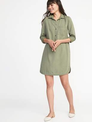 Old Navy Tencel® Shirt Dress for Women