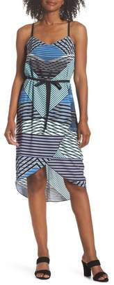 Felicity & Coco Heidi Geo Print Dress (Regular & Petite)