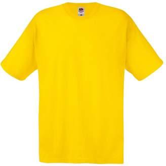 Fruit of the Loom Mens Screen Stars Original Full Cut Short Sleeve T-Shirt (5XL)