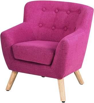 Big Fun Club Evvie Kids' Armchair, Pink
